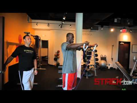 Ben Watson Resistance Band Shoulder Movement