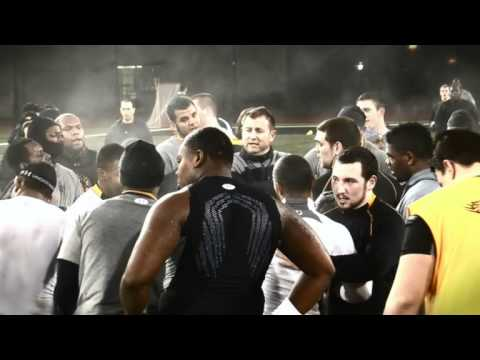 Towson Football - 2012 Season Winter Workouts #5