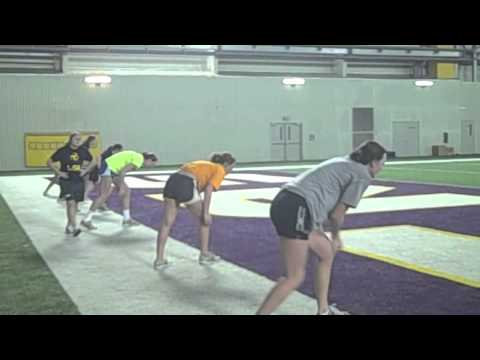 2012 LSU Women's Volleyball Spring Training