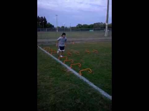 Low Hurdle Directional Agility Drill