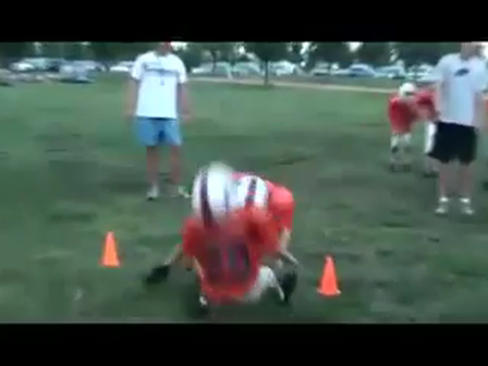 NFL fines 7 year old