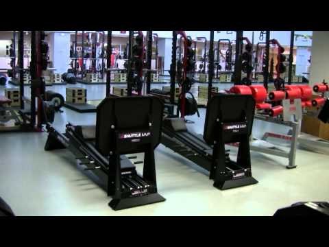 Ohio State Football Strength Training 2012 April Weightroom Tour