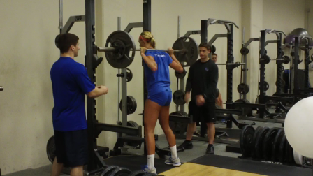Volleyball Squat 155/25