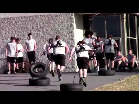 Erwin Football Winter Workouts 2012