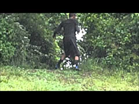 Uphill Broad Jumps for Quickness to Down Hill Sprints