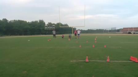 Speed and agility session