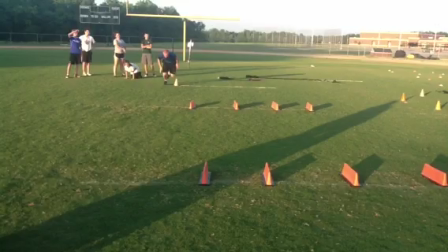 Speed & Agility Drill With a Shiver Ball at the End