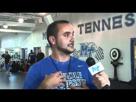 The Drill with MTSU Strength Coach Mark Moore