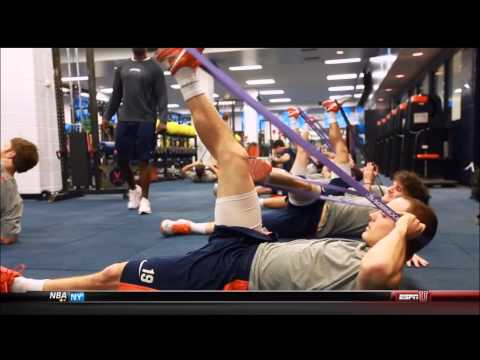 Everrett, strength coach for UVA lacrosse