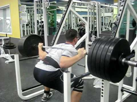 The worst squat ever!