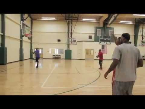 Kevin Durant  & LeBron James Get In A Workout