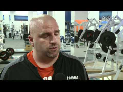 Florida Gator Football Strength & Conditioning Coach Jeff Dillman