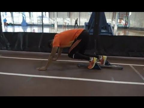 Sprinter Tyson Gay's 2012 Olympic Training