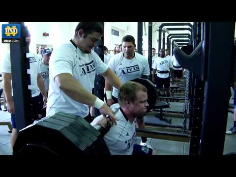 Notre Dame Football - 2012 Summer Workout Teaser
