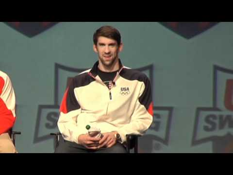 Michael Phelps Talks About 2012 Olympic Training