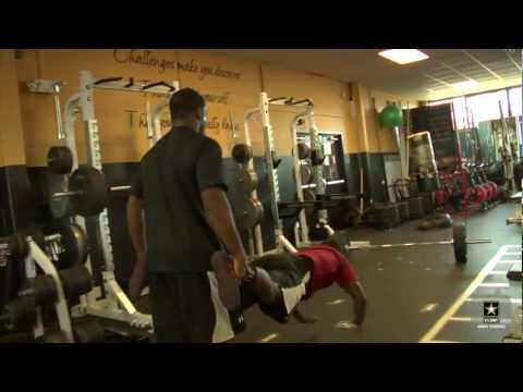 Army Strong Athletes Train for 2012 U.S. Olympic Team