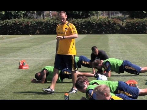 Ben Yauss, Strength and Conditioning Coach for the LA Galaxy