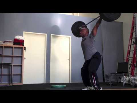 Olympic Weightlifting at the AFP Center