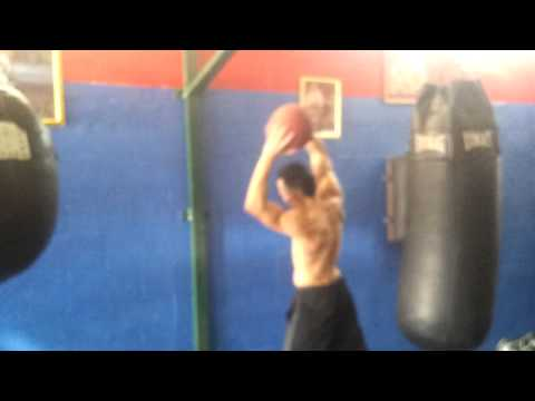 Strength And Conditioning of Luis El Gallo Rodriguez with head coach Maury Antonio Ramos Camejo