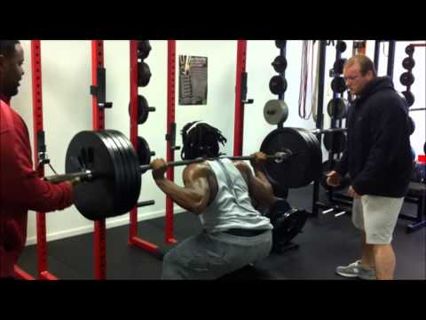 Rod Woodson squats 2/5/13