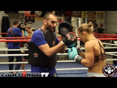 Ronda Rousey's training camp in Big Bear: UFC 157