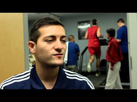 Chicago Fire Soccer Science | VO2 Max Testing