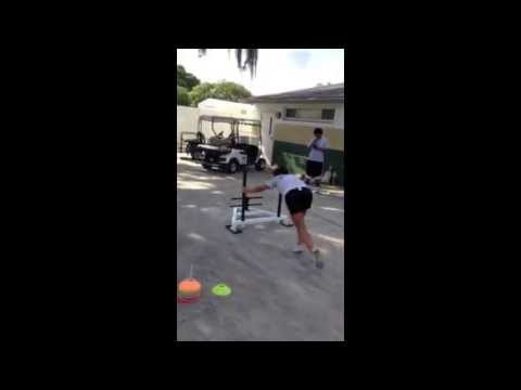 (Part 2) Webber International Women's Soccer Strength And Conditioning Training (Summer 2013)