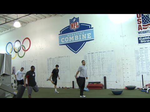 NFL Combine Training 2013