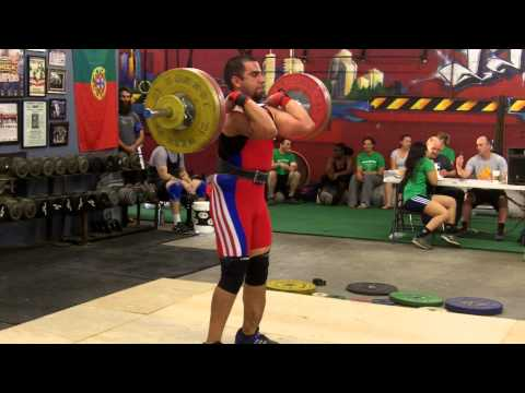 Chris Tamez NorCal Open Clean and Jerk - 108