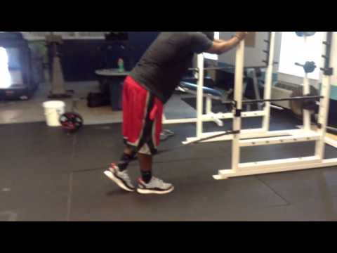 Standing Ankle Banded Stretches