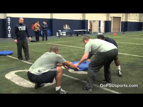 Penn State Football Winter Workout Sights and Sounds