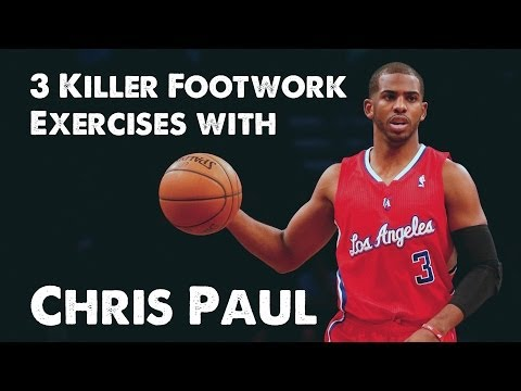 3 Killer Basketball Footwork Exercises with Chris Paul (NBA's Best PG)!