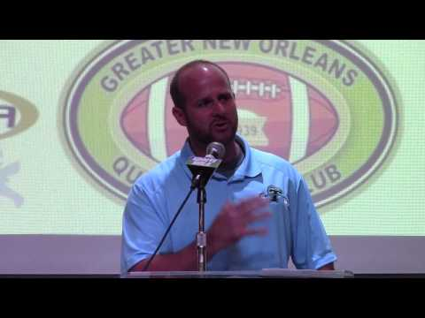 Tulane strength & conditioning coach Rob Phillips