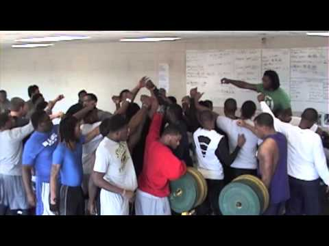 2014 Stillman College Football Offseason Strength and Conditioning Program