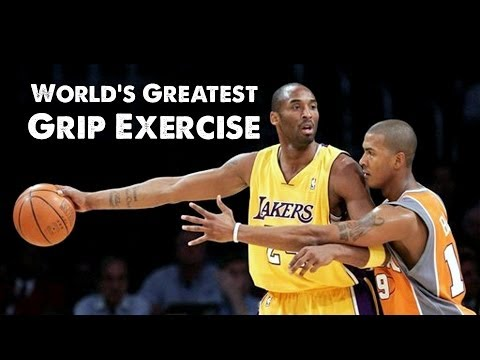 World's Greatest Grip Exercise: Plate Pinch