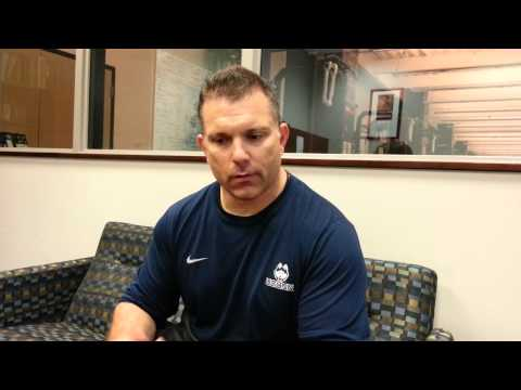 UConn Strength And Conditioning Coach Matt Balis on Football Workouts
