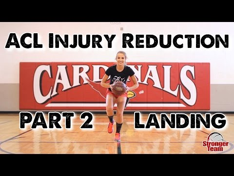 ACL Injury Reduction for Female Athletes Part 2 - Landing (w/ Rachel DeMita)