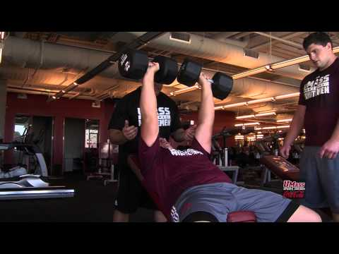 UMass Football Strength and Conditioning