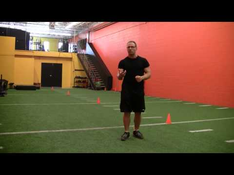 Angled Lunge Jump for Change of Direction development