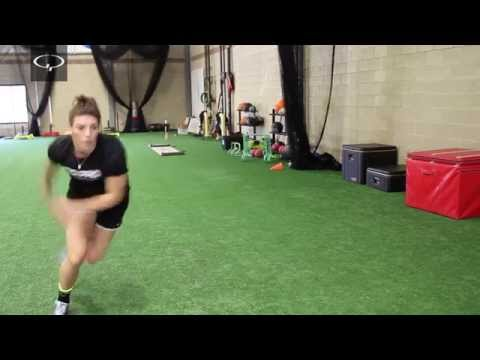 Hilary Knight Hockey Workout: Lateral Bound with Bounce