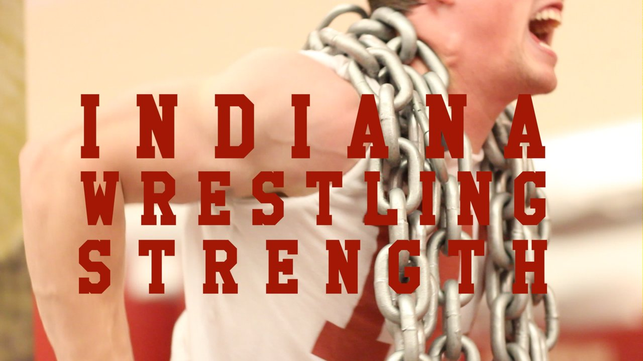 Indiana Wrestling 2014 Post Season Strength Training