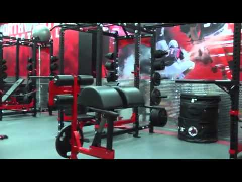 Northwestern Oklahoma State Football Weight Room