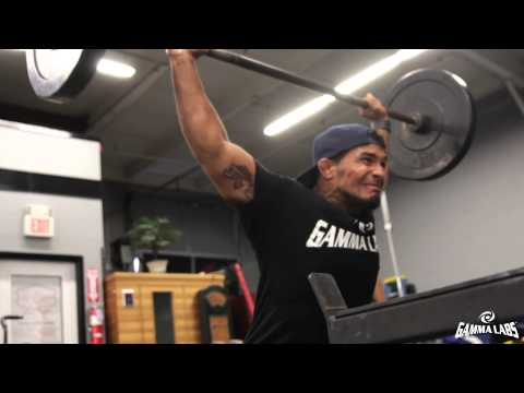 Dennis Bermudez Strength and Conditioning Session