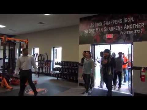 Campbell Football - New Sports Performance Center