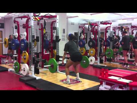NC State Women's Volleyball Strength & Conditioning