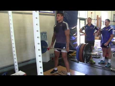 WP Vodacom Cup Team Live Gym Training Session