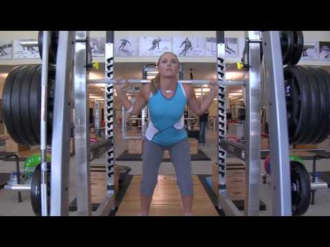 Lindsey Vonn Exclusive Under Armour Workout: Part 2