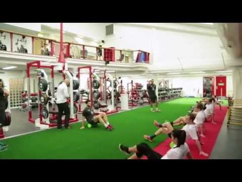 High Intensity Fitness Training with England Sevens
