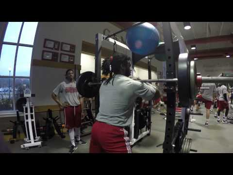 Inside JSU Gamecock Football: Winter Workouts