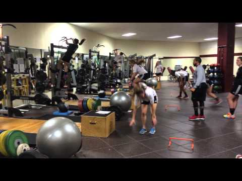 Winthrop Women's Soccer Off-Season Training